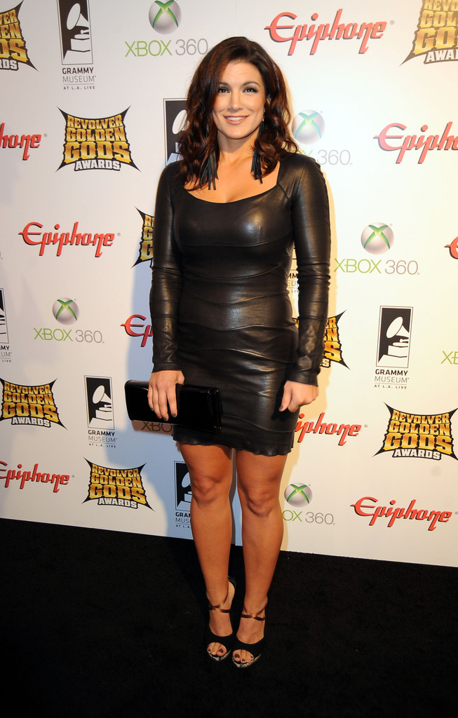 gina carano photos photos 2012 revolver golden gods