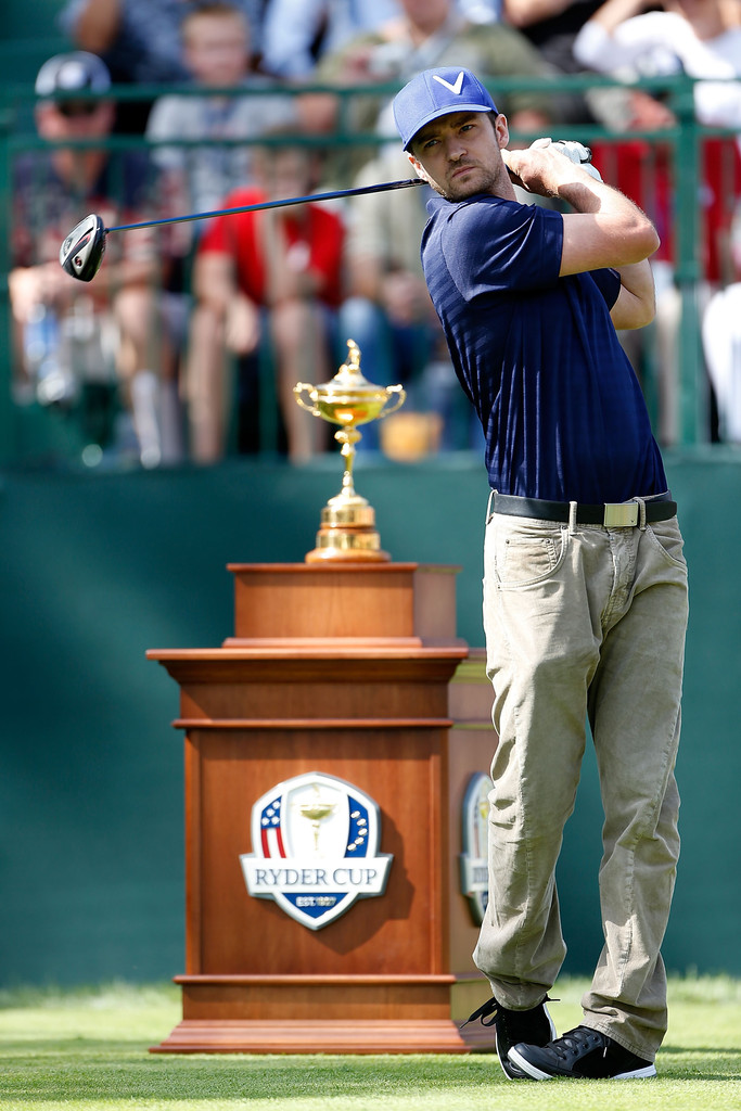 I'm a Prep! Ryder Cup 2016 Practice Rounds and Celebrity ...