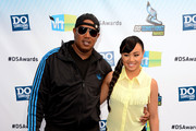 Master P and actress/singer Cymphonique Miller arrive at the 2012 Do Something Awards at Barker Hangar on August 19, 2012 in Santa Monica, California.