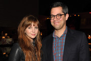 Actress Amber Tamblyn and Gideon Yago attend the 2012 Tribeca Film Festival And American Express LA Reception at The Beverly Hilton Hotel on March 19, 2012 in Beverly Hills, California.