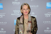 Actress Tippi Hedren arrives to the 2010 American Express Tribeca Film Festival LA Reception  at The Beverly Hilton Hotel on March 19, 2012 in Beverly Hills, California.