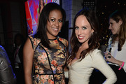 Nicole Gibbons and Sydne Summer attend the after party for the 2012 Victoria's Secret Fashion Show at Lavo NYC on November 7, 2012 in New York City.