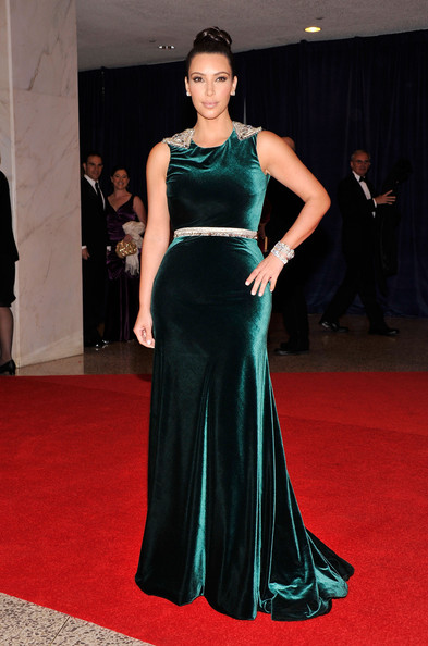 Kim Kardashian attends the 98th Annual White House Correspondents' Association Dinner at the Washington Hilton on April 28, 2012 in Washington, DC.