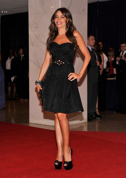 Actress Sofía Vergara attends the 98th Annual White House Correspondents' Association Dinner at the Washington Hilton on April 28, 2012 in Washington, DC.