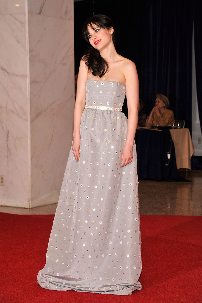 Zooey+Deschanel in 2012 White House Correspondents' Association Dinner - Red Carpet