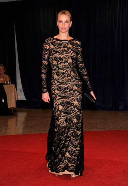 Charlize Theron attends the 98th Annual White House Correspondents' Association Dinner at the Washington Hilton on April 28, 2012 in Washington, DC.