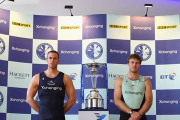 Hanno Wienhausen 2012 Xchanging Boat Race Launch and Weigh-In