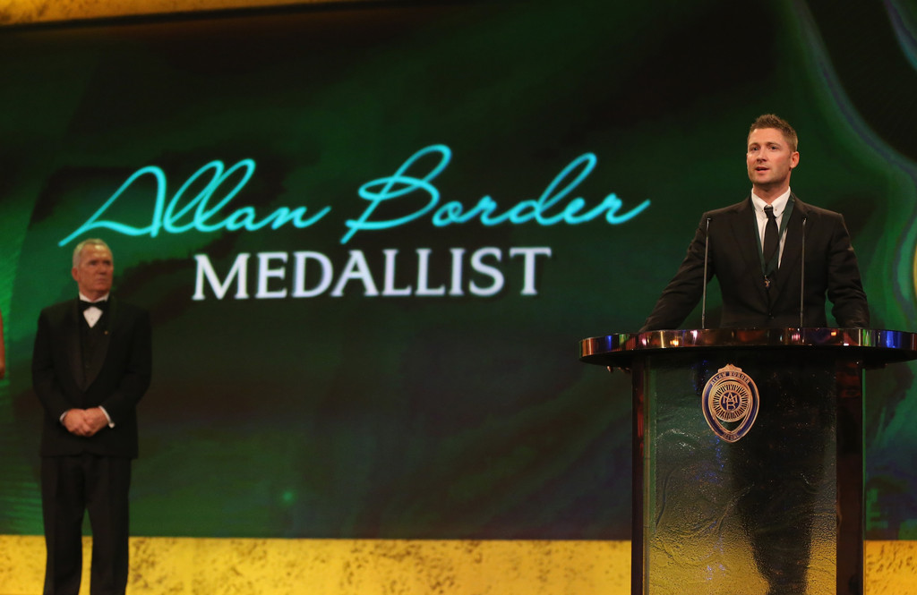 allan border medal - photo #24