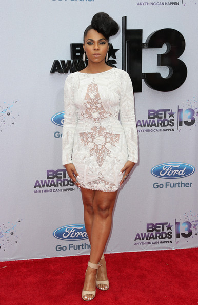 Ashanti attends the 2013 BET Awards at Nokia Theatre L.A. Live on June 30, 2013 in Los Angeles, California.