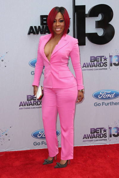 Recording artist K.Michelle attends the 2013 BET Awards at Nokia Theatre L.A. Live on June 30, 2013 in Los Angeles, California.