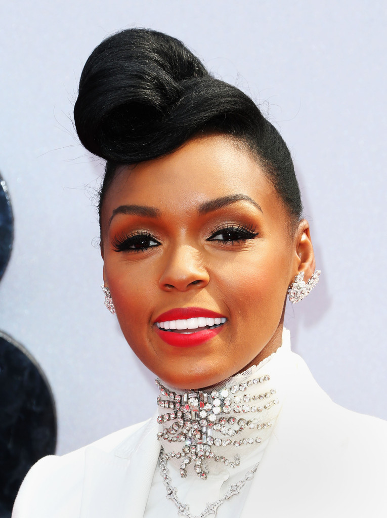 Janelle Monae In Arrivals At The Bet Awards Zimbio