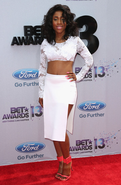 Recording artist Sevyn Streeter attends the 2013 BET Awards at Nokia Theatre L.A. Live on June 30, 2013 in Los Angeles, California.