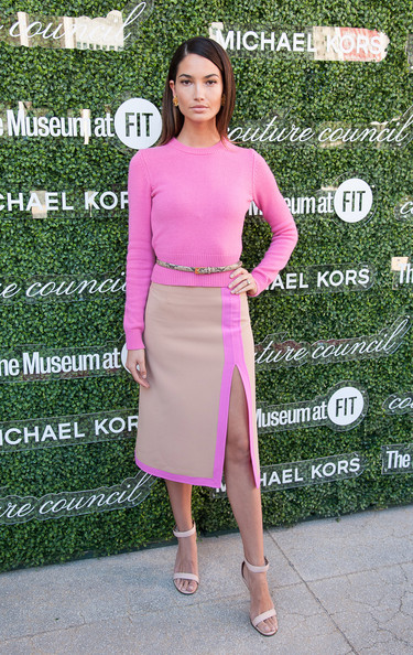 Lily Aldridge attends 2013 Couture Council Fashion Visionary Awards at David H. Koch Theater, Lincoln Center on September 4, 2013 in New York City.