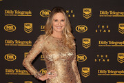 Charlotte Dawson arrives ahead of the 2013 Dally M Awards at Star City on October 1, 2013 in Sydney, Australia.