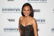 Miranda Tapsell arrives at the 2013 Deadly Awards at the Sydney Opera House on September 10, 2013 in Sydney, Australia. The Deadly Awards are the National Aboriganal and Torres Straight Islander music, sport, entertainment and community awards.