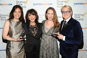 Diane Pailus, Andrea Martin, Gypsy Snider and Chet Walker attend 2013 Drama Desk Awards at Town Hall on May 19, 2013 in New York City.
