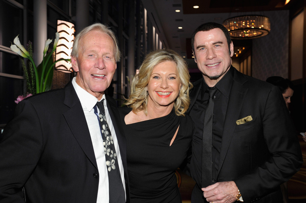 John Travolta and Paul Hogan Photos Photos - 2013 G'Day ...