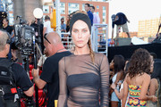 Model Erin Wasson attends the 2013 MTV Video Music Awards at the Barclays Center on August 25, 2013 in the Brooklyn borough of New York City.