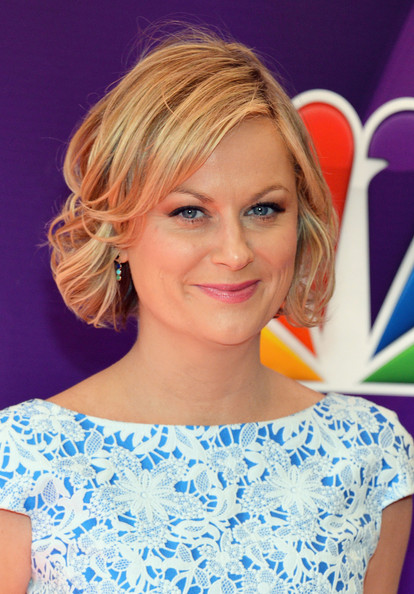 Amy+Poehler in Red Carpet at the NBC Upfront Event in NYC