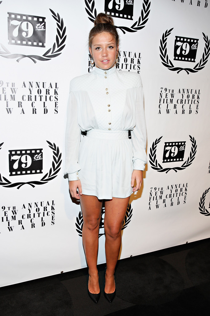 Actress Adèle Exarchopoulos attends the 2013 New York Film Critics Circle Awards Ceremony at The Edison Ballroom on January 6, 2014 in New York City.