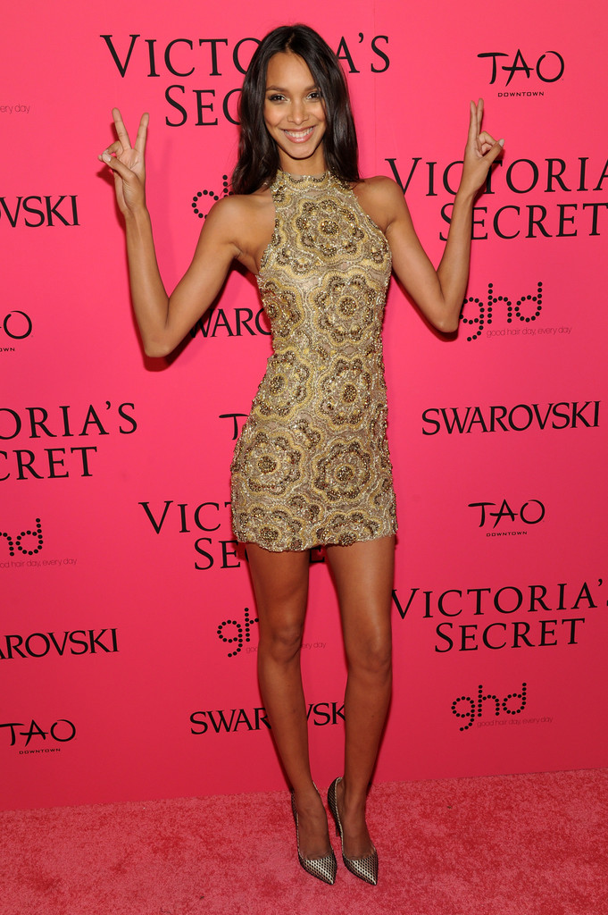 Lais ribeiro photos photos 2013 victoria 39 s secret fashion after party pink carpet arrivals Style me pink fashion show
