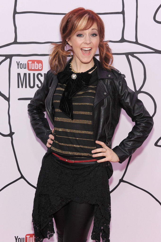 Lindsey Stirling in Arrivals at the YouTube Music Awards ...