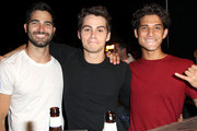 (L-R) Actors Tyler Hoechlin, Dylan O'Brien and Tyler Posey attend CW Network's 2013 Young Hollywood Awards presented by Crest 3D White and SodaStream held at The Broad Stage on August 1, 2013 in Santa Monica, California.