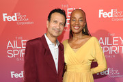 (L-R) Author Khephra Burns and Susan Taylor attend the 2014 Ailey Spirit Gala at David H. Koch Theater at Lincoln Center on June 11, 2014 in New York City.