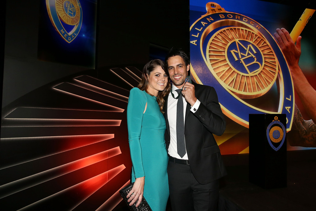Allan Border Medal: Jessica Bratich Johnson In Arrivals At The Allan Border