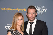 Actress Samantha Bee (L) and Jason Jones attend 2014 American Comedy Awards at Hammerstein Ballroom on April 26, 2014 in New York City.