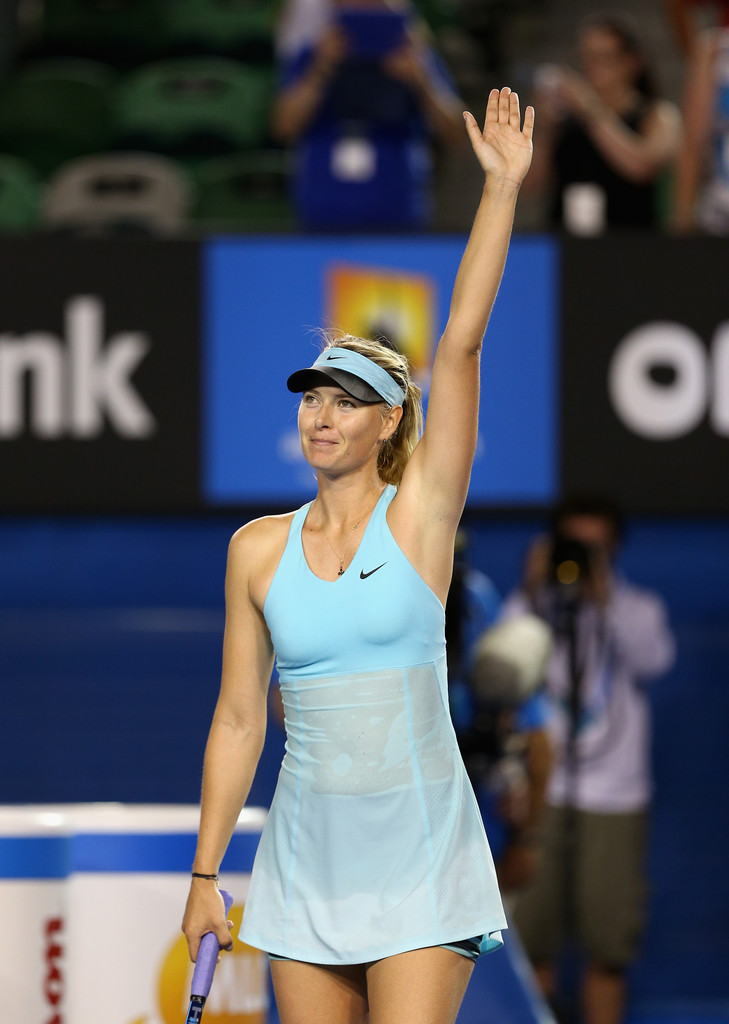 Maria Sharapova Photos Photos - Australian Open: Day 2 ...