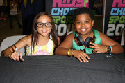 Actress Breanna Yde (L) and actor/rapper Benjamin Flores Jr. attend Fan Fest - AT&T, Geico, Poetic Jeans, Sneaker Con, Tennis, Xbox, Health And Wellness, Nickelodeon, Opening Concert, Centric Centrified during the 2014 BET Experience At L.A. LIVE on June 28, 2014 in Los Angeles, California.