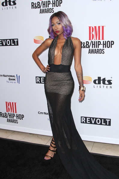 Recording artist Diamond attends the 2014 BMI R&B/Hip-Hop Awards at the Pantages Theatre on August 22, 2014 in Hollywood, California.