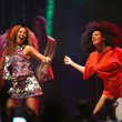 Beyonce Knowles and Solange Knowles Photos