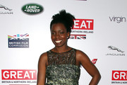 Adepero Oduye attends the 2014 GREAT British Oscar Reception on February 28, 2014 in Los Angeles, California.