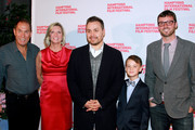 (L-R) Stuart Match Suna, Anne Chaisson, Theodore Melfi, Jaeden Lieberher and David Nugent attend the St. Vincent premiere during the 2014 Hamptons International Film Festival on October 9, 2014 in East Hampton, New York.