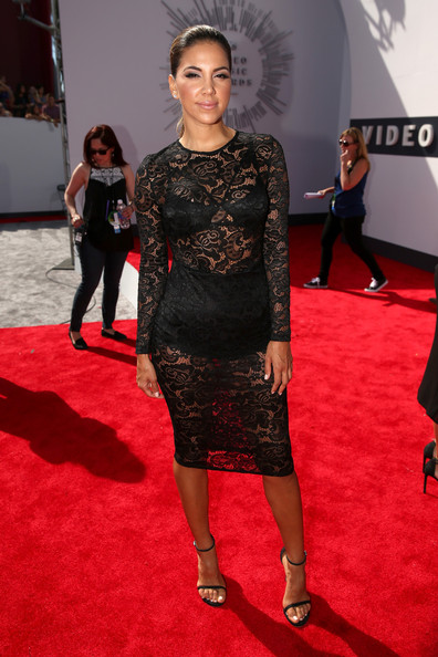 TV host Liz Hernandez attends the 2014 MTV Video Music Awards at The Forum on August 24, 2014 in Inglewood, California.