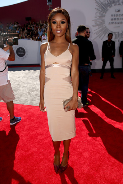 TV personality Zuri Hall attends the 2014 MTV Video Music Awards at The Forum on August 24, 2014 in Inglewood, California.