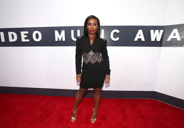 Actress Uzo Aduba attends the 2014 MTV Video Music Awards at The Forum on August 24, 2014 in Inglewood, California.