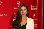 Katherine Webb attends the 2014 Shape & Men's Fitness Super Bowl Party at Cipriani 42nd Street on January 31, 2014 in New York City.