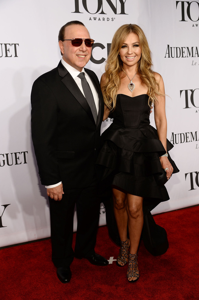 Tommy Mottola and Thalia Photos Photos - 2014 Tony Awards ...