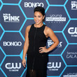 Gina Rodriguez in a black gown