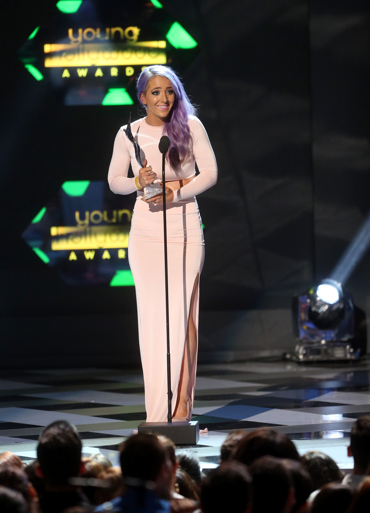 Jenna Marbles In Young Hollywood Awards Show Zimbio