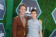 Actors Actor Ansel Elgort(L) and Nat Wolff attend the 2014 Young Hollywood Awards brought to you by Samsung Galaxy at The Wiltern on July 27, 2014 in Los Angeles, California.