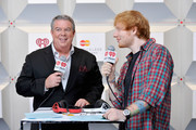 Elvis Duran and Ed Sheeran Photos Photo