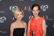 AAFA President & CEO Juanita D. Duggan (L) and CEO, President and Designer Cynthia Rowley attend the 2015 AAFA American Image Awards on April 27, 2015 in New York City.