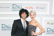 Krit and Kate Peck arrive at the 2015 ASTRA Awards at the Star on March 12, 2015 in Sydney, Australia.