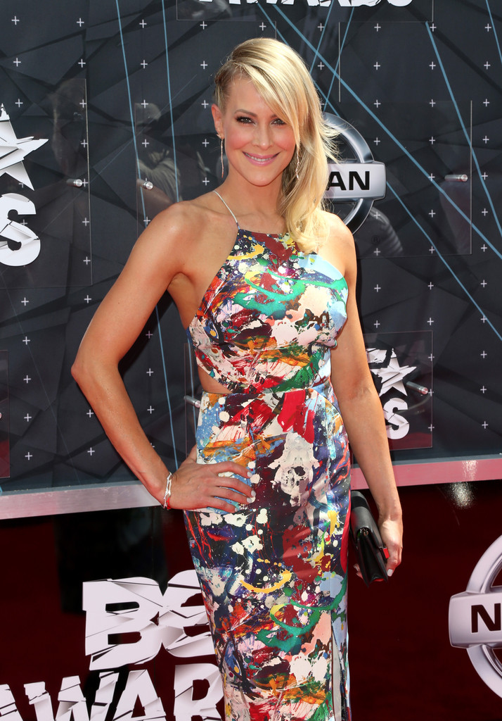 Brittany Daniel Photos - Celebs Arrive at the 2015 BET ... Brittany Daniel