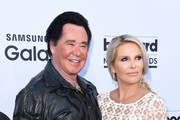 Singer Wayne Newton and Kathleen McCrone attend the 2015 Billboard Music Awards with Kia Motors at MGM Grand Garden Arena on May 17, 2015 in Las Vegas, Nevada.