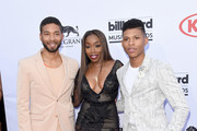 Estelle and Jussie Smollett Photos Photo